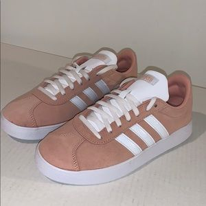 Pink Adidas VL COURT 2.0 SHOES
